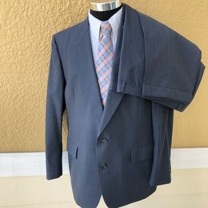 Hart Schaffer and Marx 2 pc set Navy suit pants